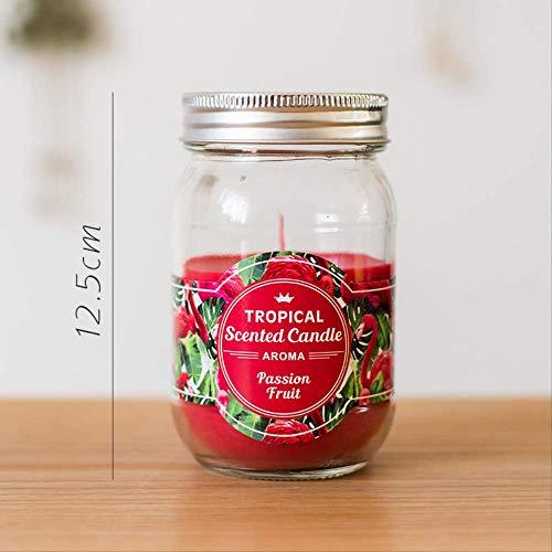 CFLFDC Kandelaar, serie tropische vruchten, kaars, etherische olie, aroma-kop, wasbeker, geconserveerd (groot)