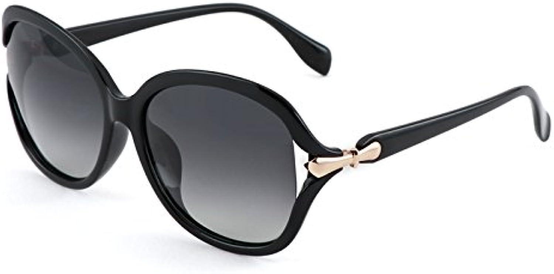 VVIIYJ Ms. Polarizer Sunglasses Driving Glasses Drive Big Round Face Sunglasses Uv Predection Glasses