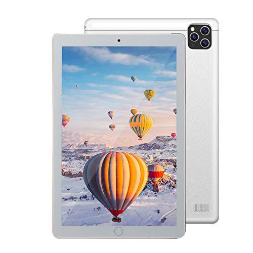 GAOwi 2021 Nueva Tableta 10.1-Pulgada Android Full Netcom 4G Máquina de Aprendizaje de Dos en uno para la línea de Gloria de Huawei,Plata