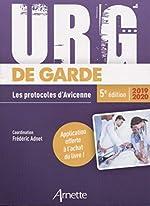 Urg' de garde 2019-2020 - Les protocoles d'Avicenne de Frédéric Adnet