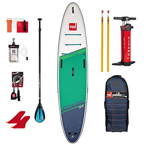 Red Paddle 12'6″ Voyager + Carbon 50 Nylon Tabla Sup Y P