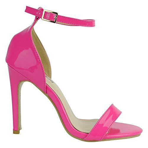 BeMeesh Zapatos de Tacón Alto para Mujer Sandalias Stilettos