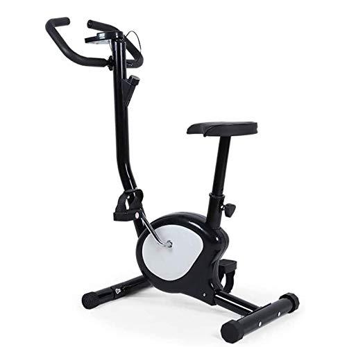 Entrenador de bicicletas, bicicleta deportiva, bicicleta de ejercicios, bicicleta de ejercicios, bicicleta de fitness con computadora de entrenamiento para el entrenamiento de la oficina en casa
