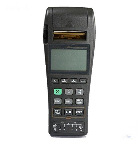 Gowe K J Type de température Enregistreur graphique thermocouple Thermomètre avec Datalogger et intégrés en imprimante