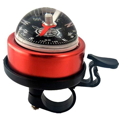 Mountainbike-Kompass, Mountainbike-Kompass Glockenkompass mit großer Hemisphäre Bell Mountainbike-Führer Bell Riding Equipment