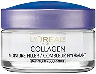 Collagen Face Moisturizer by L'Oreal Paris Skin Care I Day and Night Cream I Anti-Aging Face Cream to Smooth Wrinkles I Non-Greasy I 1.7 oz_x000D_