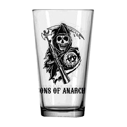 JUST FUNKY Sons Of Anarchy Logo Pint
