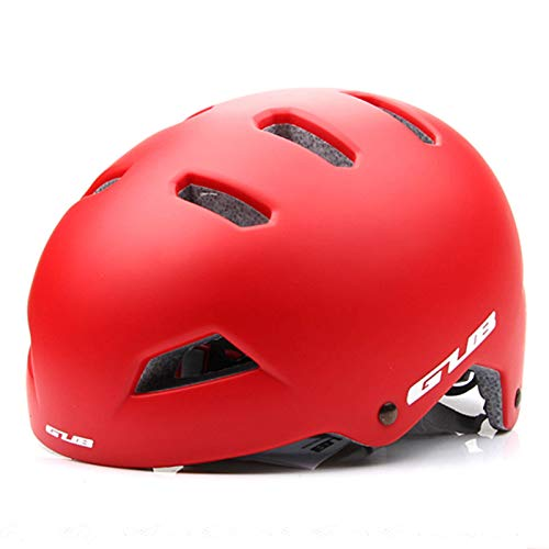 N\C Casco de bicicleta redondo Mountainbike casco hombres mujeres al aire libre patinaje escalada deportes extremos seguridad casco carretera