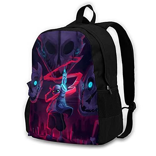 Real Bad Time 41,5 cm Doppelfach Schülerrucksack Schultasche geeignet für Jungen und Mädchen Schule Uni Outdoor Reisen