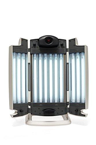 La lampe de bronzage solarium facial tanner 12 tubes de fit and Beautiful
