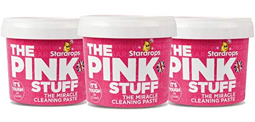 Stardrops - The Pink Stuff - The Miracle Cleaning Paste 3-Pack Bundle (3 Cleaning Paste)