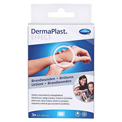 Dermaplast Effect Brandwunden Pflaster 4,5 x 6,5cm, 3 St