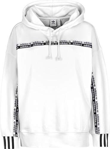 Adidas Damen HOODIE Sweatshirt, weiß (White), 32