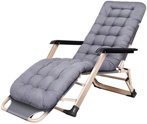 MFLASMF Productos para el hogar Silla de jardín reclinable |Tumbona Plegable con Tumbona y reposacabezas |Sillones reclinables para Patio al Aire Libre, Patio, Junto a la Piscina, Playa