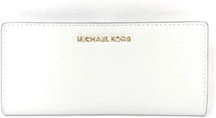 Michael 2021 spring and summer Daily bargain sale new Kors Jet Set Travel Flat Leather Saffiano Bifold Slim Wa