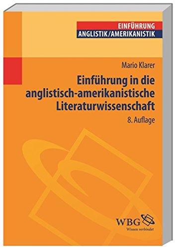 Einführung in die anglistisch-amerikanistische Literaturwissenschaft (Studium kompakt)