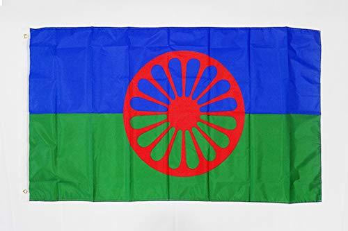AZ FLAG Flagge Gypsy 150x90cm - Zigeuner Fahne 90 x 150 cm feiner Polyester - flaggen