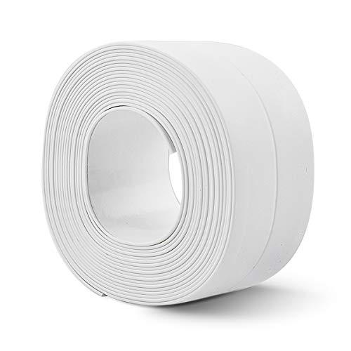 防水テープ 補修テープ 防水コーナーテープ 隙間テープ 防油 防汚 防 防カビ キッチン 浴室 台所 コーナーテープ シンク お風呂 ウォール シート 浴槽まわり トイレ用 防水 防カビ 隙間風防止 (22mm*3.2m*1個)