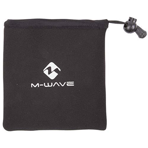 M-Wave Unisex– Erwachsene Rotterdam Pedal P Pedaltaschenset, Schwarz, 135 x 145 mm (LxB)