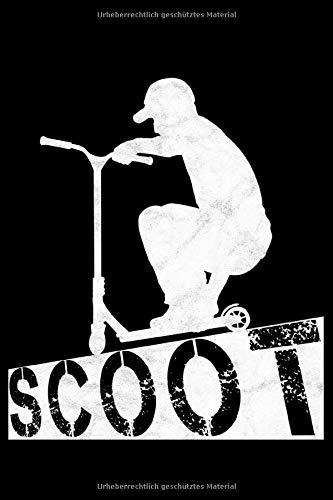 Scoot: Stuntscooter Notizblock  | Notebook | gepunktete Linien | A5 | 120 Seiten