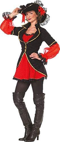 Luxus-Piratenfrau Kleid mit Hut Gr. 42 KELLER FESTIVAL 18034-42