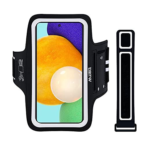 Brazalete Móvil Deportivo Universal, EOTW Brazalete Running para iPhone 12/11/XR Samsung S21/S20/A71/A51 Huawei Xiaomi Redmi Bolsillo para el teléfono Celular para Hacer Jogging(5''-6,7')