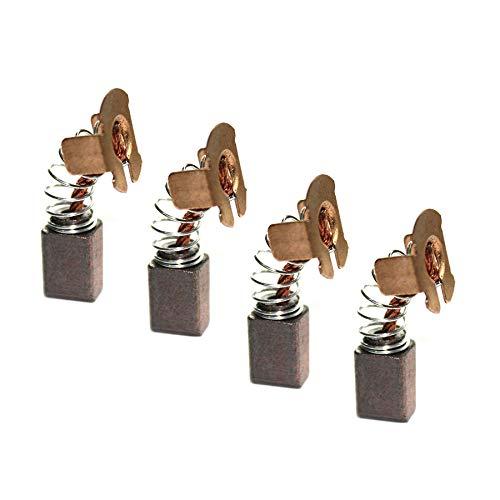 4 cepillos de motor de carbono CB430 compatibles con amoladora angular Makita 18V LXT BHR200 DGA452 DGA452Z, 191971-3 pieza de repuesto para herramientas eléctricas