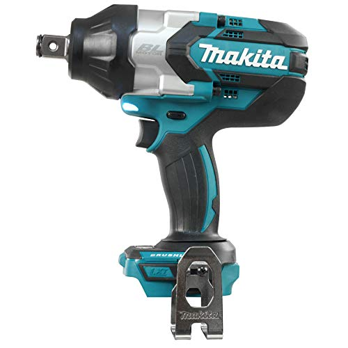 Makita DTW1001Z 18 V LXT Brushless 3/4In Impact Wrench Bare Unit, 500 W, Blue, Large