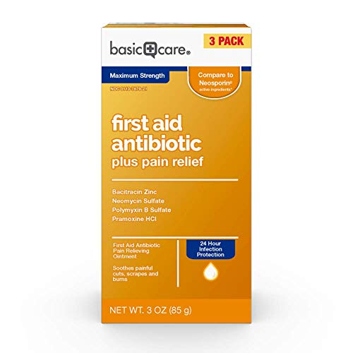 Amazon Basic Care First Aid Triple Antibiotic Ointment