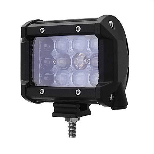 C-Funn mistlampen 4 inch 36 W 2160Lm LED werklamp geleiderail voor mistlampen ATV Dc10-30 V 6000 K