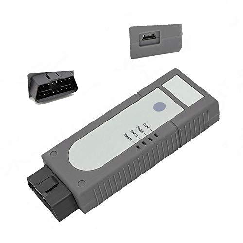 TONVER Auto Diagnosewerkzeug Super Mini ELM327 OBD2 II Bluetooth Auto Diagnose Scanner Tool Tragbar Auto Wireless Auto Diagnose Scanner