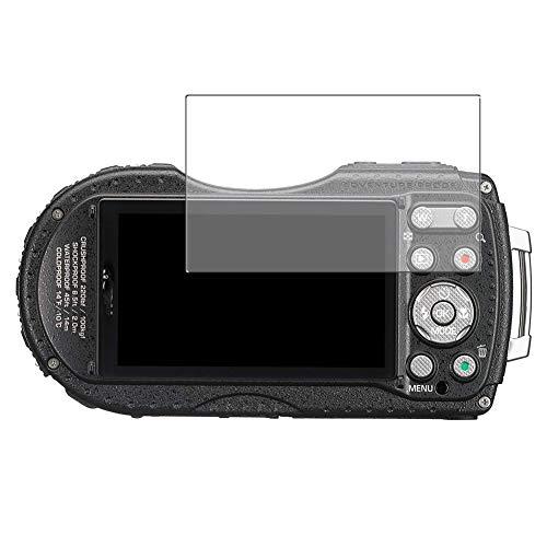 Vaxson 3 Unidades Protector de Pantalla, compatible con RICOH WG-4 GPS [No Vidrio Templado] TPU Película Protectora