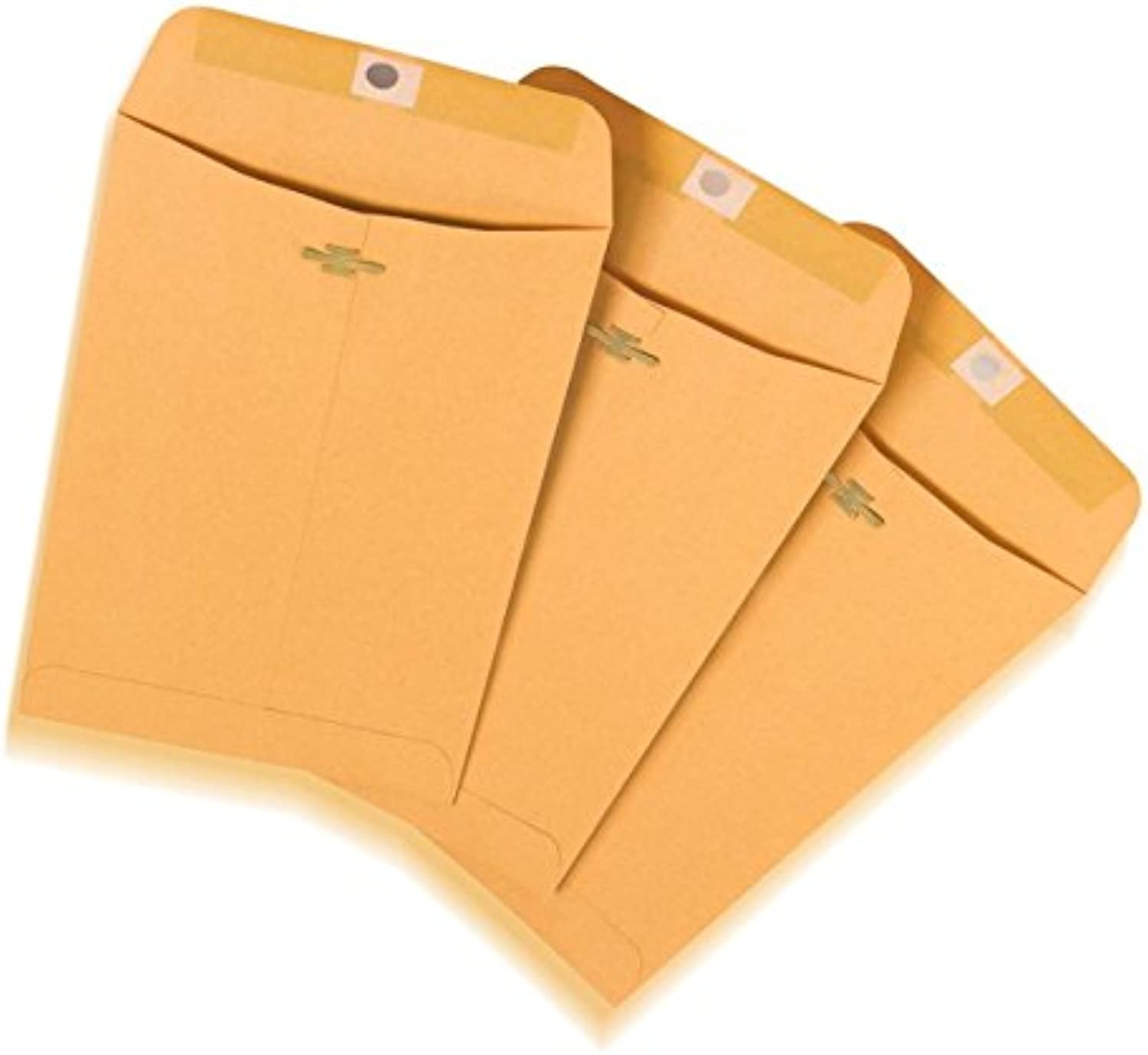 Office Depot(R) Brand Clasp Envelopes, 6in. x 9in., Brown, Box Of 100