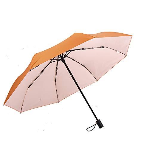 LZPQ Viajes Umbrella Paraguas Paraguas Compacto Plegable A Prueba De Viento Y Nieve,con Tela Hidro-Repelente Duradero Paraguas De Viaje