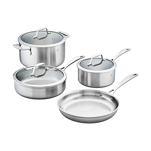 ZWILLING J.A. Henckels Spirit Cookware Set, 7-pc, Stainless Steel