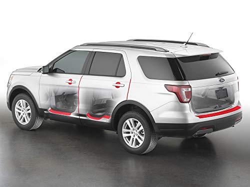 Custom Scratch Protection Kit  Covers Door Handle Cups, Door Edges, Door Sills, Trunk Ledge fits Select Toyota Highlander - WeatherTech SP0374