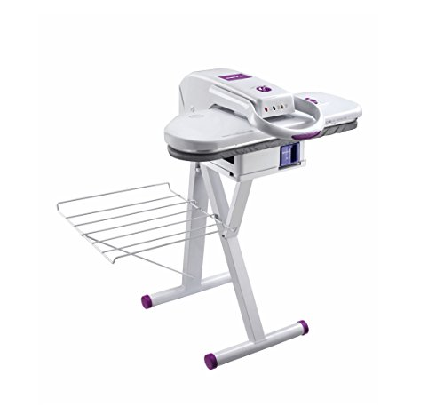 Sienna E-Z Seat Stand 24 Inches High, White, Heavy Duty Steam Press Stand