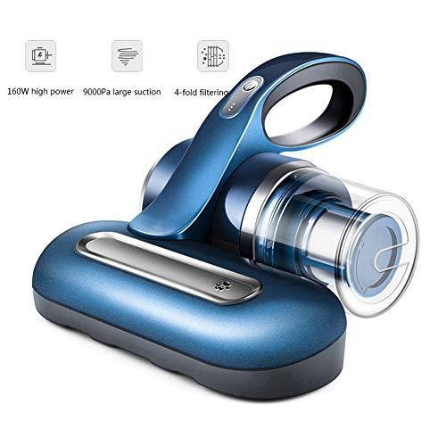 LYTLD Aspiradora Portátil para Camas y Colchones, UV Aspiradora contra Ácaros, DiseñO InaláMbrico, Dos Velocidades Blue