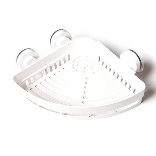 Cuarto de baño de Almacenamiento de Rack, Simple Pastoral Cuarto de baño Cocina sin Rastro Fuerte Zueco Triángulo 26 cm * 7 cm (Color : A)