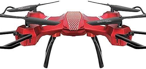 FODUIV 2019 RC Quadcopter Mini Drone 6 Axes Gyro Durable Quadcopter RC Hélicoptère Avion Quadcopter Enfants Télécomhommede Jouets Télécomhommede à Distance Rouge