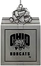 LXG, Inc. Ohio University -Pewter Christmas Holiday Present Ornament-Silver