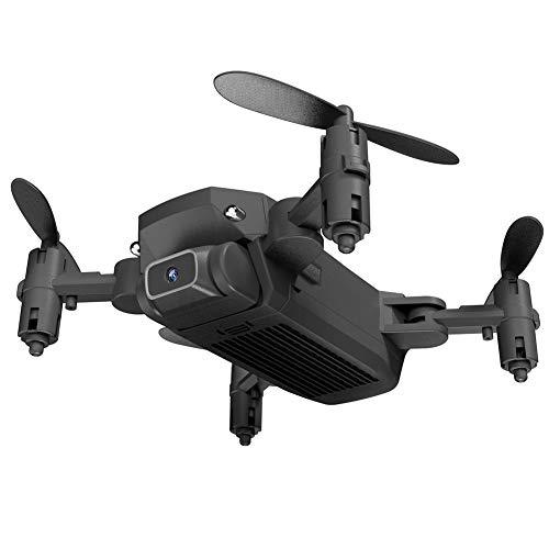 LS ni Wifi Fpv Met 0.3mp / 5.0 / 4kmp Hd Camera Altitude Hold Mode Opvouwbare Rc Drone Quadcopter Rtf,Black
