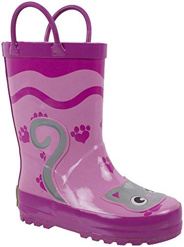 Adorable Pink Rain Boots for Cat Lovers