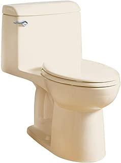 American Standard 2034314.021 Champion 1.6 GPF Elongated One-Piece Toilet Seat, Right Height, Bone