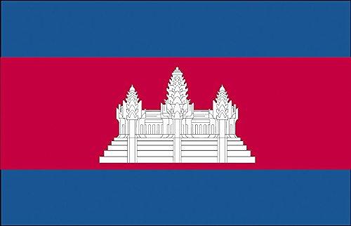Dekofahne - Kambodscha - Gr. ca. 150 x 90 cm - 80075 - Deko-Länderflagge