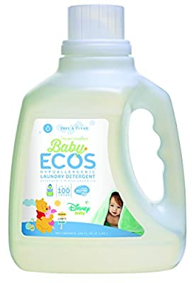 Earth Friendly Products Baby Ecos Free and Clear Disney, 100 Ounce (2 Pack)