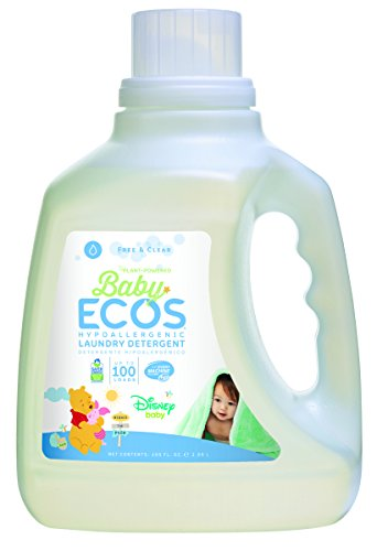 Earth Friendly Products Baby Ecos Free and Clear Disney Laundry Detergent, 100 Fl Oz (Pack of 2)