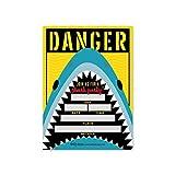 25 Shark Birthday Party Invitations, Pool Beach Water Danger Theme Kids Invites Idea, Summer Fish Boys Swim Event Supply, Children Baby Ocean Jaws Sleepover Bday Printed or Fill In the Blank Card Bulk
