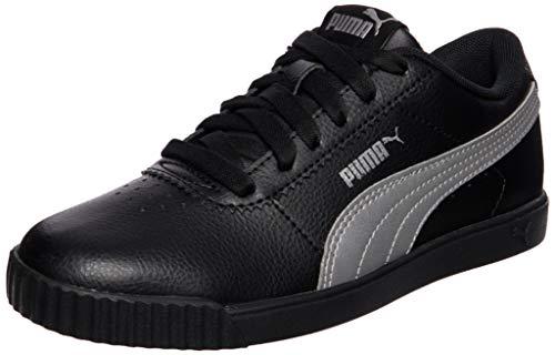PUMA Carina Slim SL, Zapatillas Mujer, Negro Plata, 38 EU