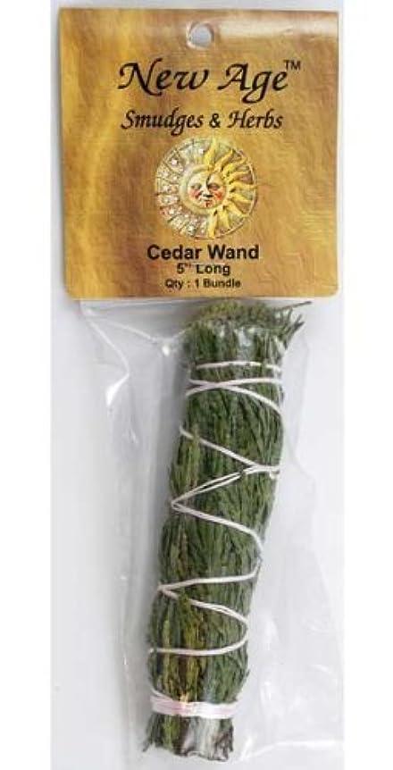 主婦異常な絵Cedar smudge stick 5?